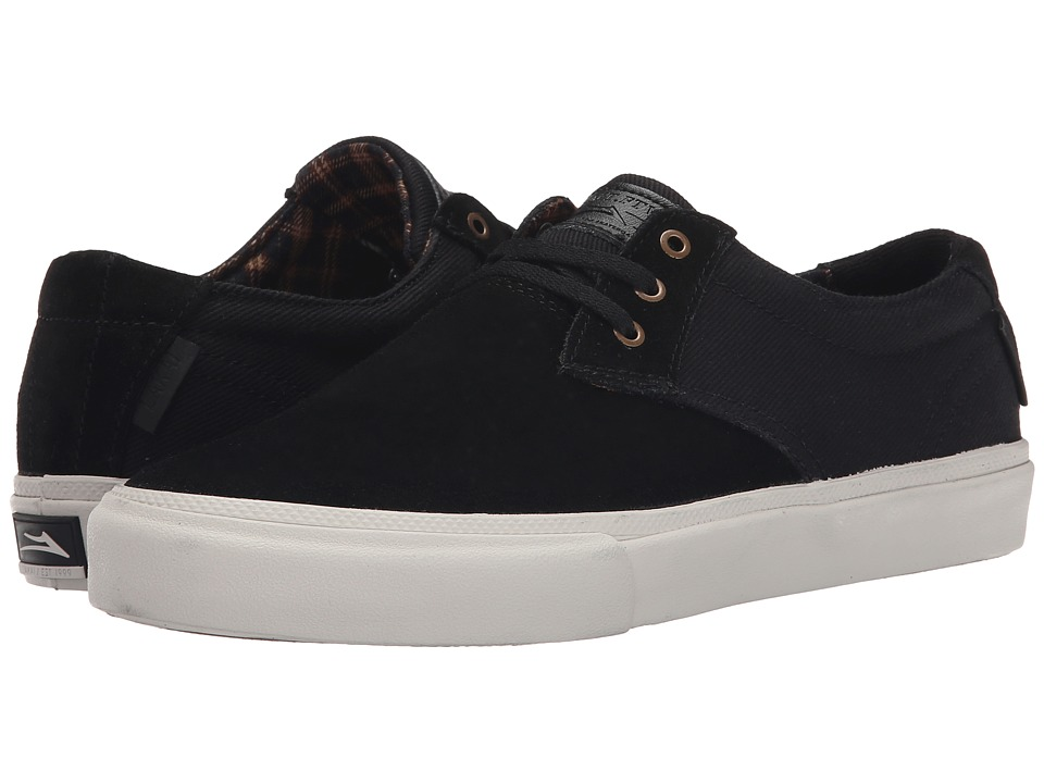 Lakai - MJ (Black Suede) Men's Skate Shoes