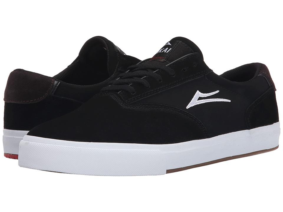 Lakai - GuyMar (Black Suede) Men's Skate Shoes