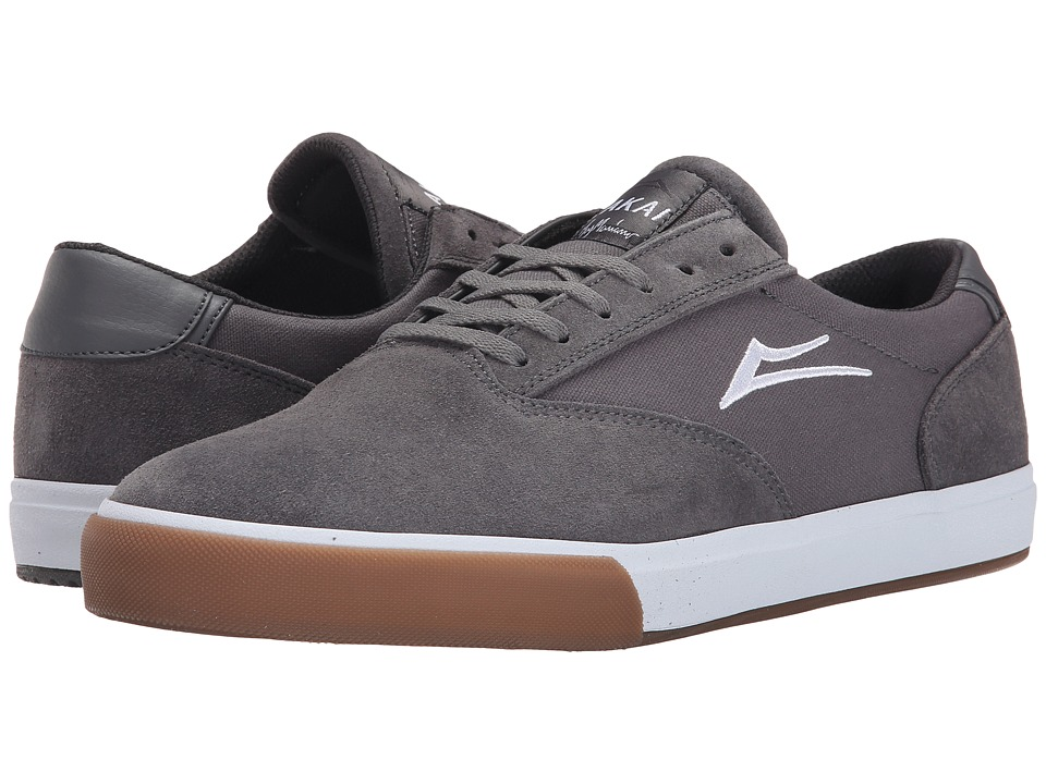 Lakai - GuyMar (Grey/Gum Suede) Men's Skate Shoes