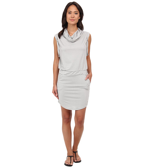 Bench - Offsetta Dress (Neutral Grey) Women's Dress
