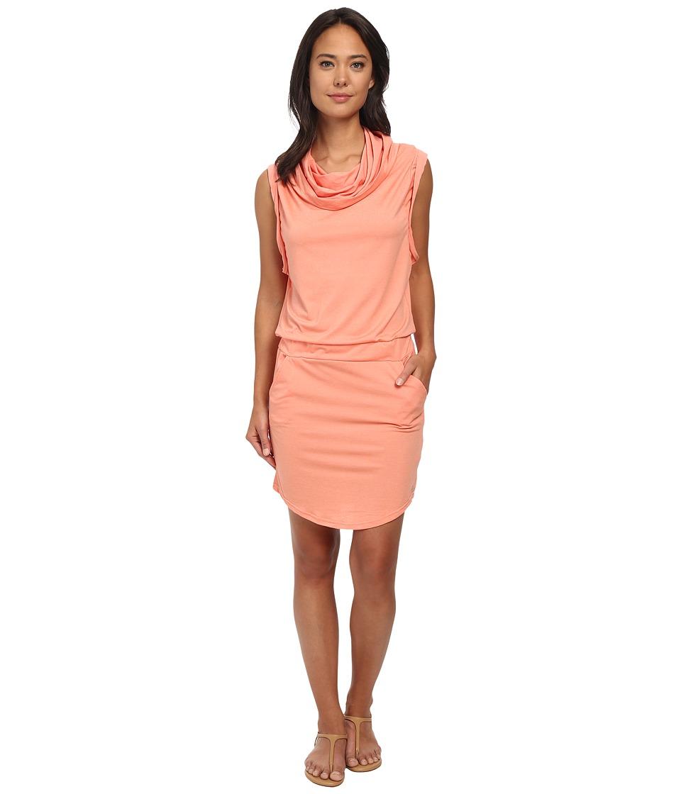 Bench - Offsetta Dress (Coral) Women