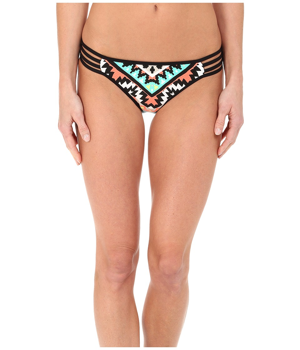 Seafolly - Kasbah Multi Strap Hipster Bottom (Nectarine) Women's Swimwear