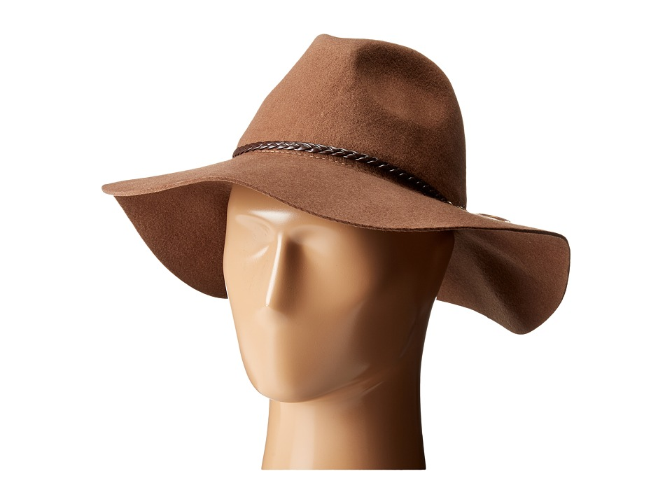 Seafolly - Wayfarer Floppy Hat (Tan) Traditional Hats