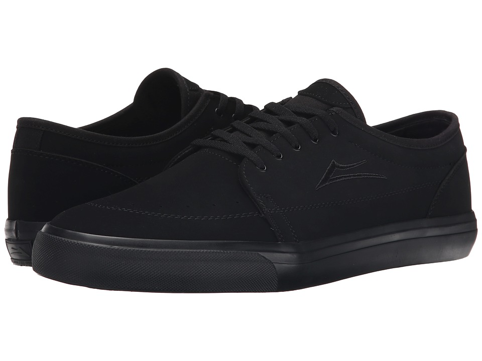 Lakai - Madison (Black/Black Nubuck) Men