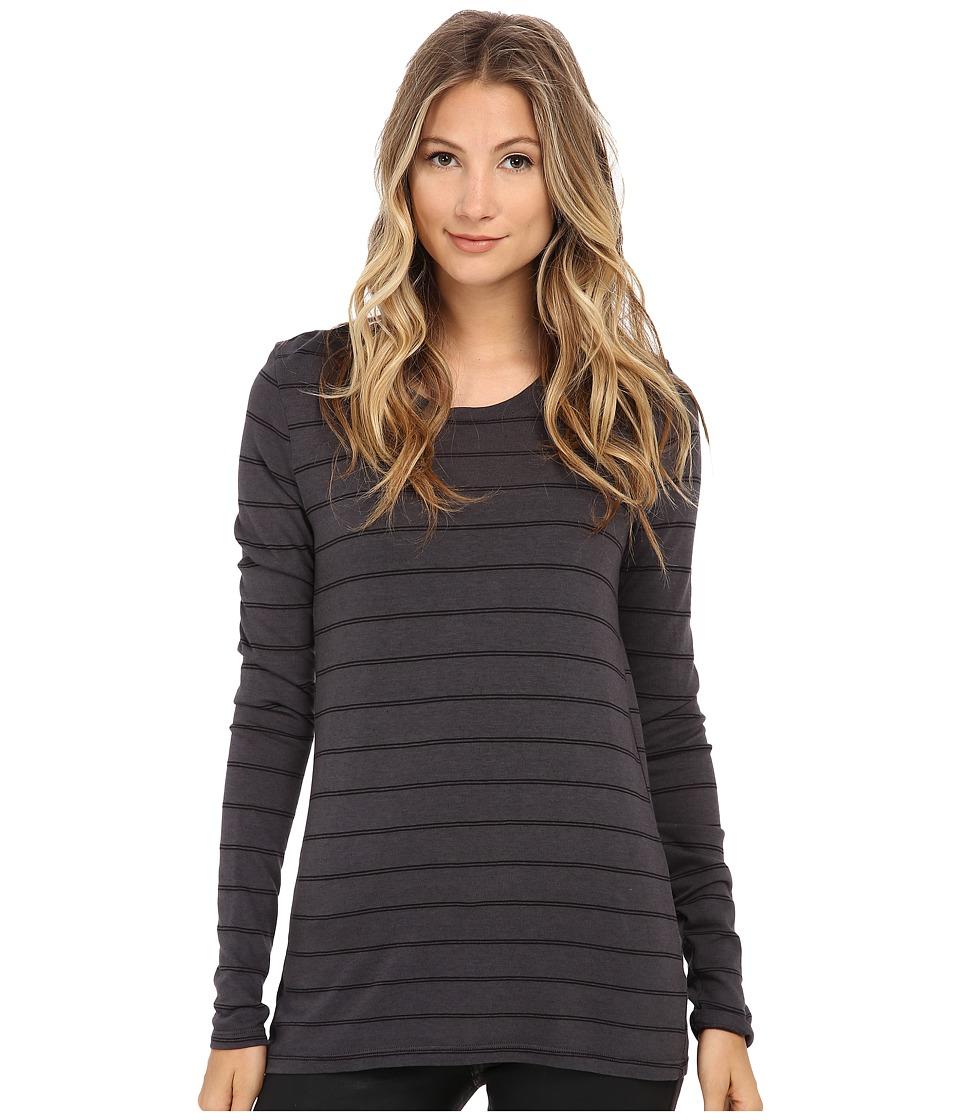 Michael Stars - Lolita Stripe Long Sleeve Crew Neck (Oxide) Women's Clothing