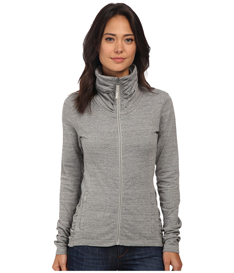 Bench - Nolie B Zip Thru (Grey Marl) Women's Clothing