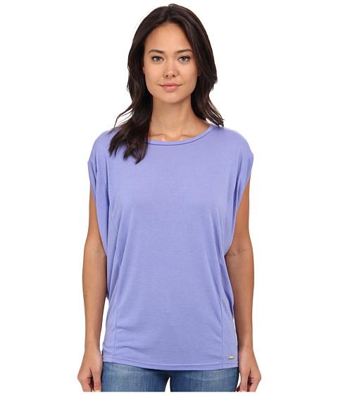Bench - Pillarz Short Sleeve Top (Deep Periwinkle) Women