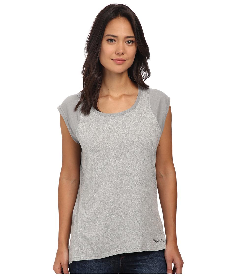 Bench - Vapourz Short Sleeve Top (Grey Marl) Women