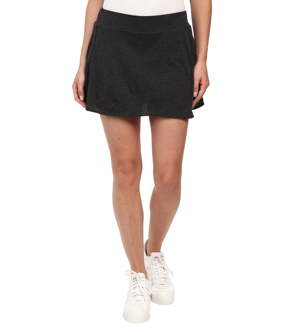 Bench - Skortingaround Shorts (Black Marl) Women's Skort
