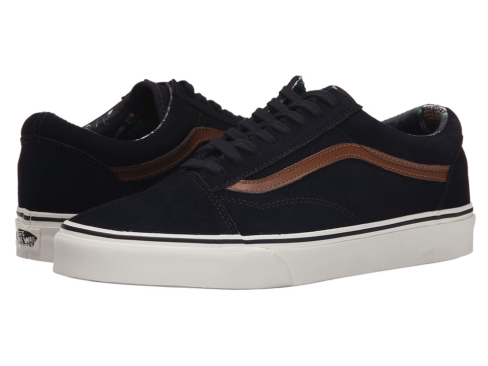 Vans - Old Skool ((Desert Tribe) Suede/Blue/Graphite) Skate Shoes