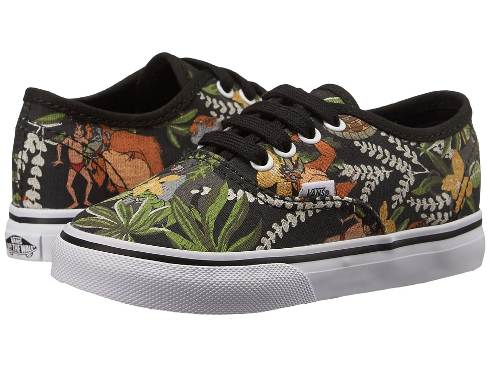 Vans Kids - Disney Authentic (Toddler) ((Disney) The Jungle Book/Black) Kids Shoes