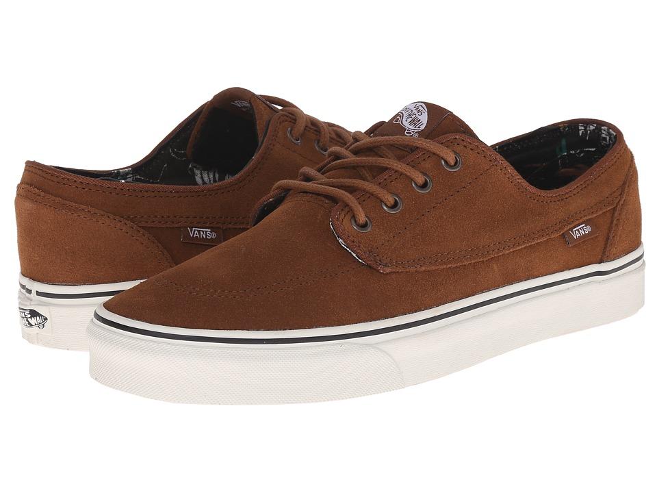 Vans - Brigata ((Desert Tribe) Suede/Monks Robe) Skate Shoes