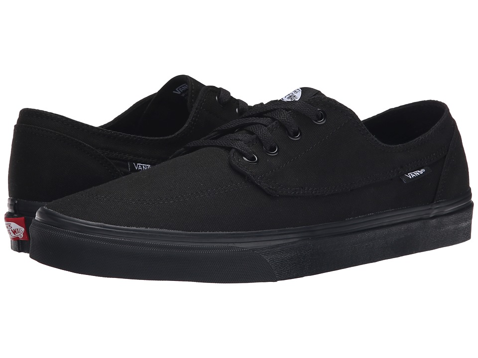 Vans - Brigata (Black/Black) Skate Shoes