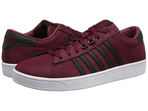 K-Swiss - Hoke C CMF (Cordovan/Black/White) Men's Shoes