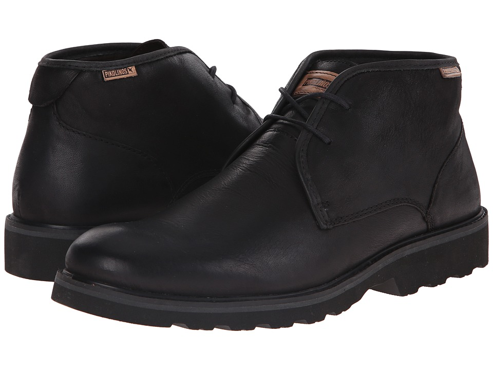 Pikolinos - Glasgow 05M-6030F (Black) Men's Lace-up Boots