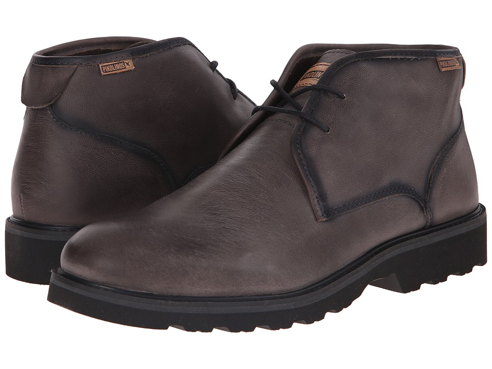 Pikolinos - Glasgow 05M-6030F (Dark Grey) Men's Lace-up Boots