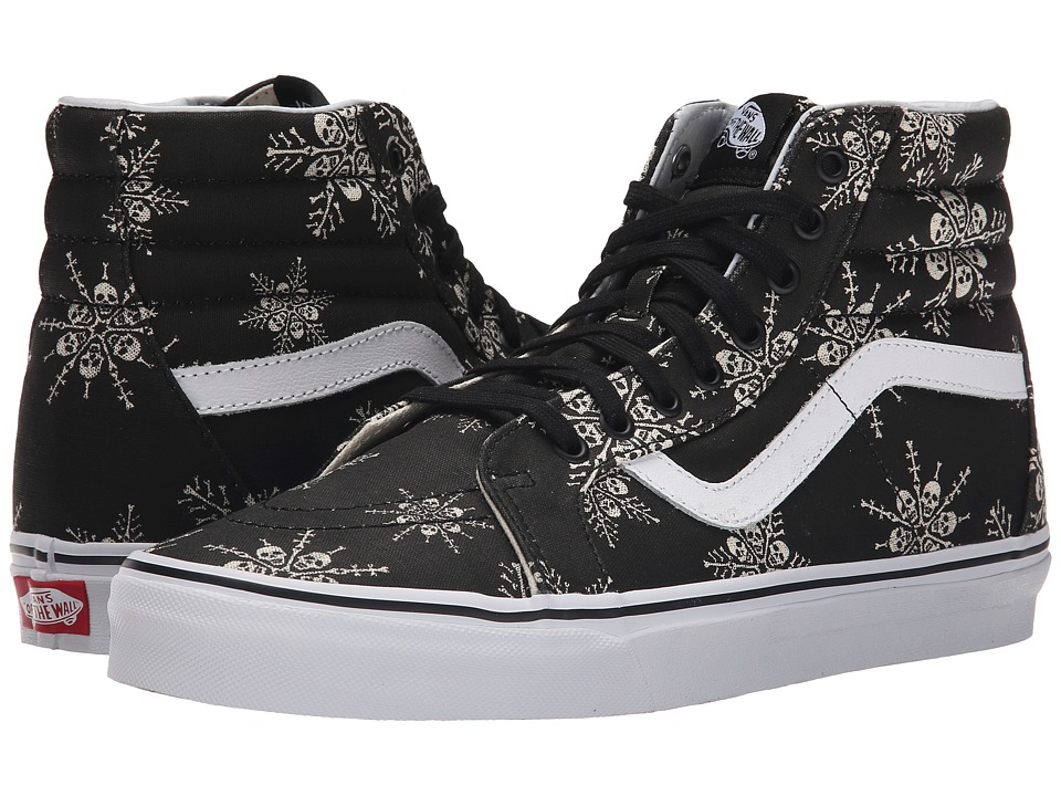 Vans - SK8-Hi Reissue ((Van Doren) Skull Snowflake/Black) Skate Shoes