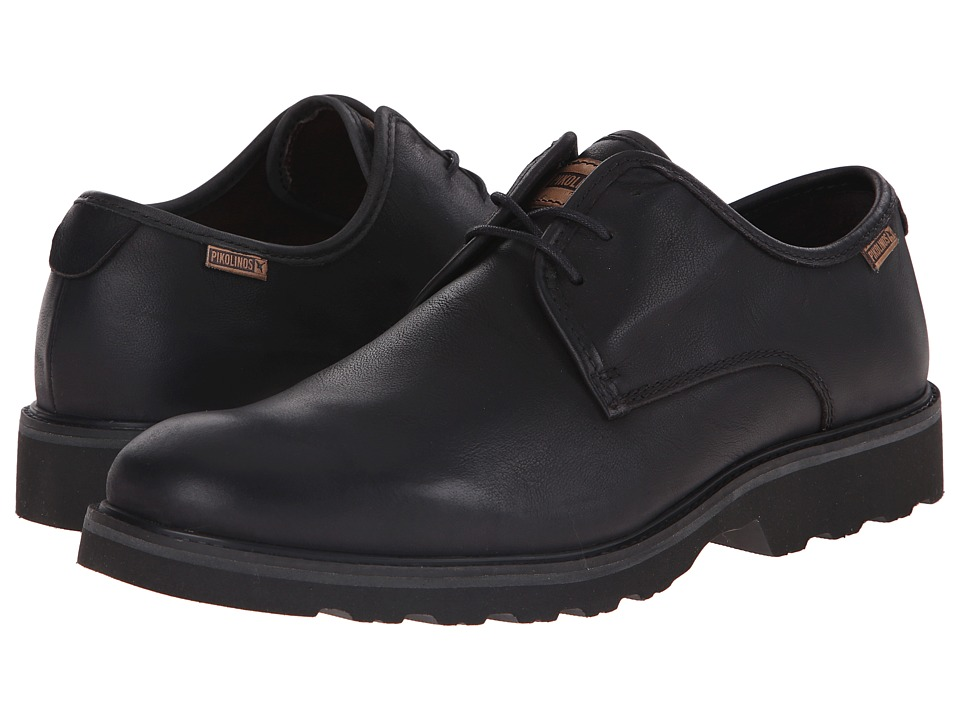 Pikolinos - Glasgow 05M-6034F (Black) Men's Lace up casual Shoes