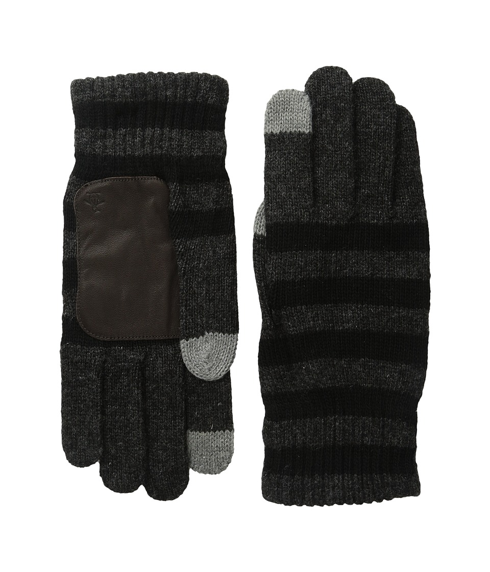 Original Penguin - Rolie (Black/Navy) Extreme Cold Weather Gloves