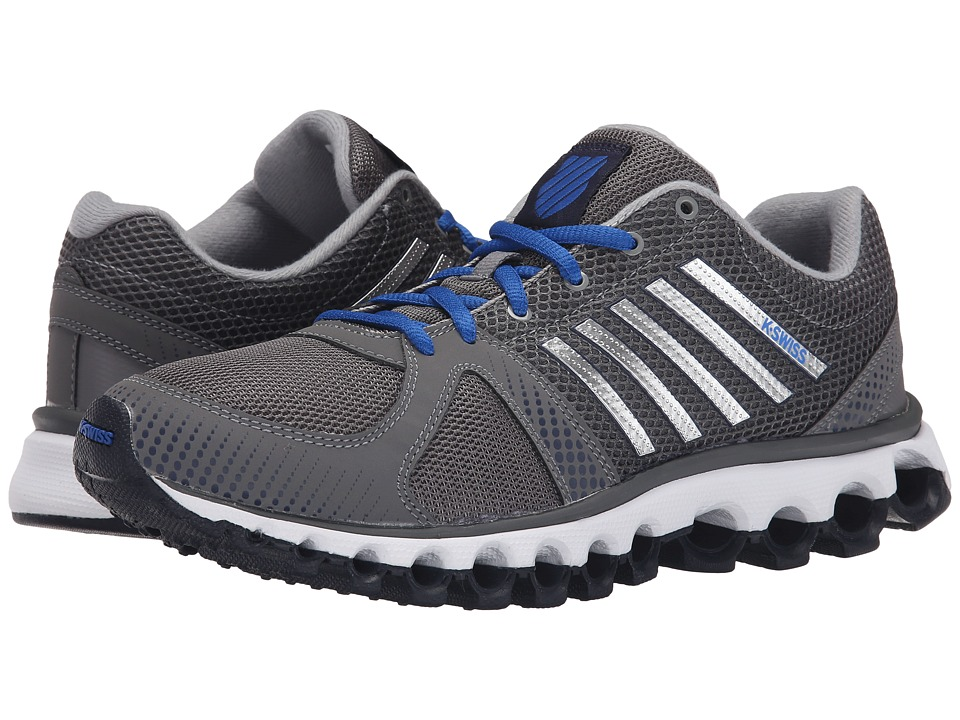 K-Swiss - X-160 CMF (Charcoal/Navy/Classic Blue) Men's Cross Training Shoes