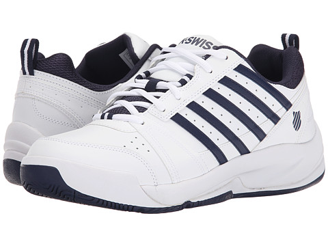 K-Swiss - Vendy II (White/Navy) Men's Cross Training Shoes