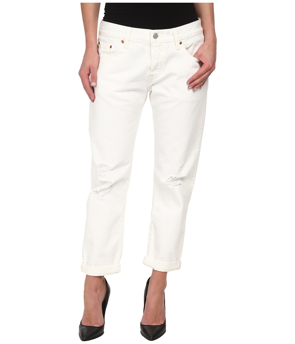 Levi's(r) Womens - 501(r) Customized and Tapered Jeans (White Tumble) Women's Jeans