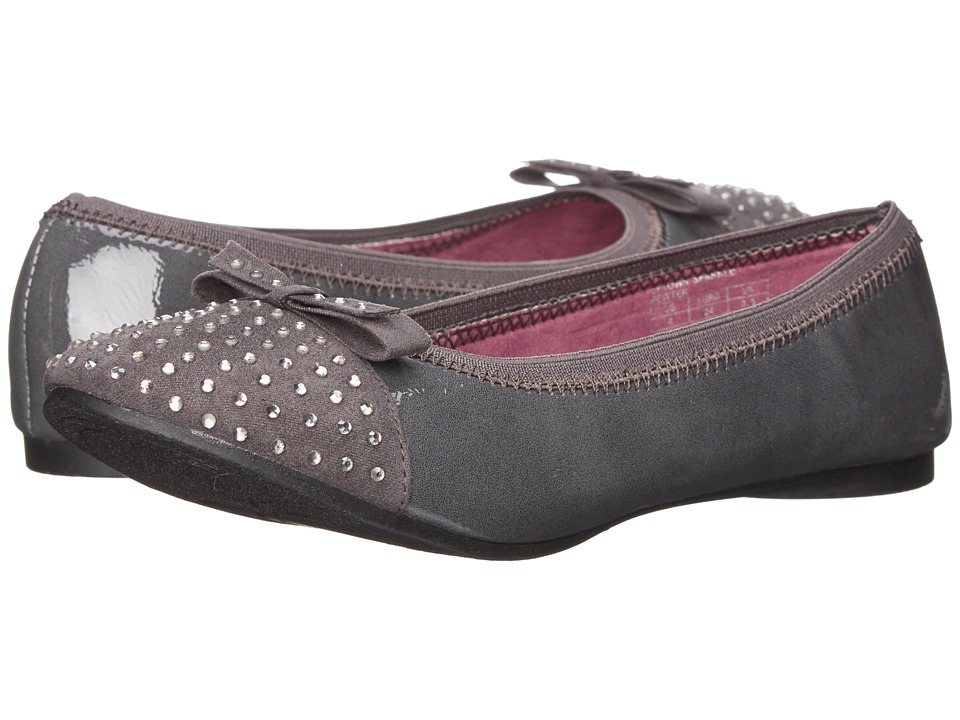 Kenneth Cole Reaction Kids - KCNY Uptown Sparkle (Little Kid/Big Kid) (Pewter Patent) Girl