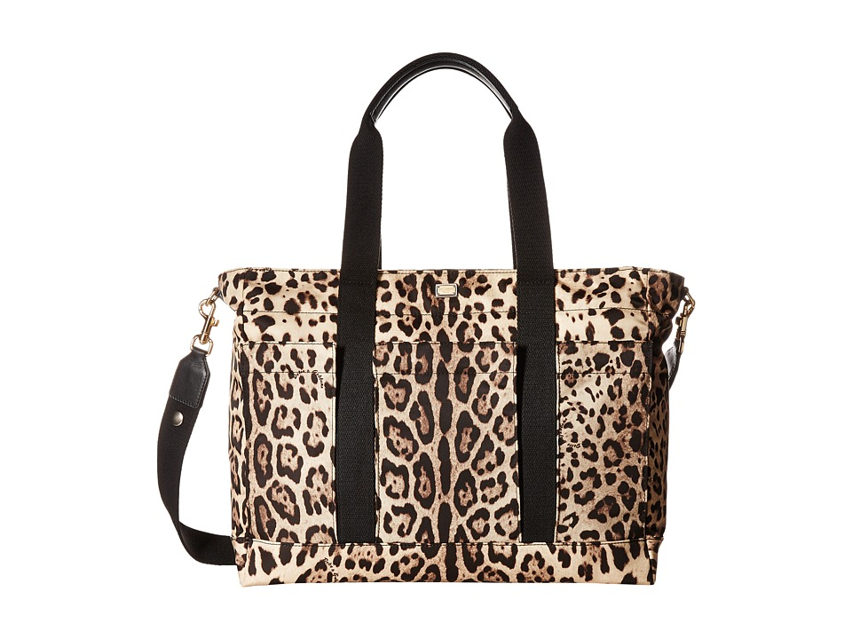 Dolce & Gabbana Kids - Leopard Print Diaper Bag (Little Kids/Big Kids) (Leopard Print) Diaper Bags