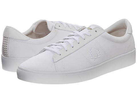Fred Perry - Spencer Canvas (Porcelain/White) Men's Shoes