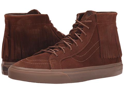 Vans - SK8-Hi Moc ((Suede) Bison) Skate Shoes