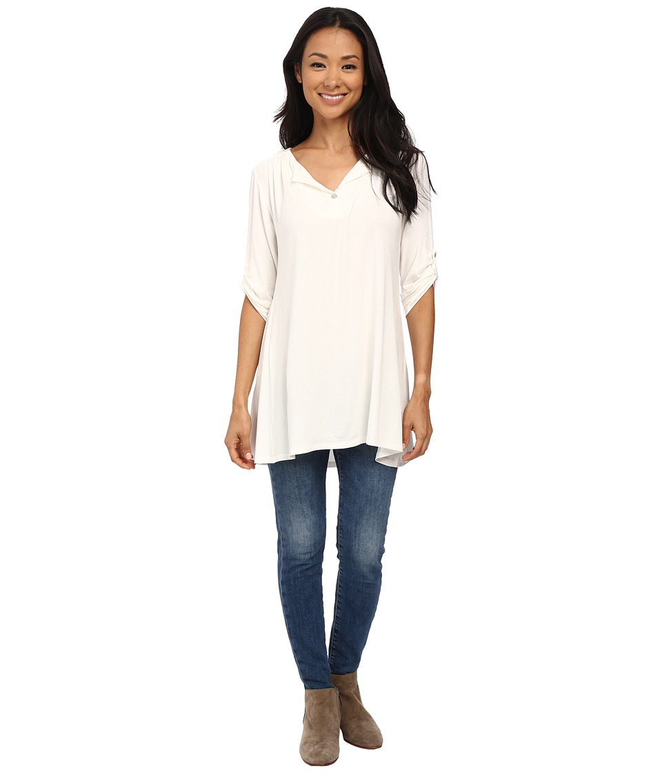 Lucy Love - Swing Tunic (Ivory) Women's Blouse