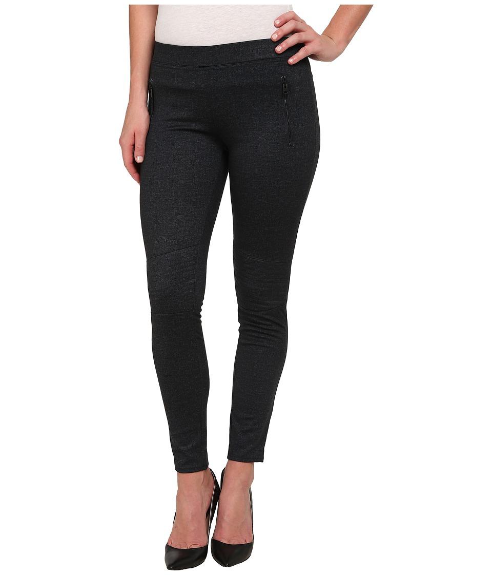 Calvin Klein Jeans - Denim Ponte Panelled Leggings in Raw Indigo (Raw Indigo) Women's Casual Pants