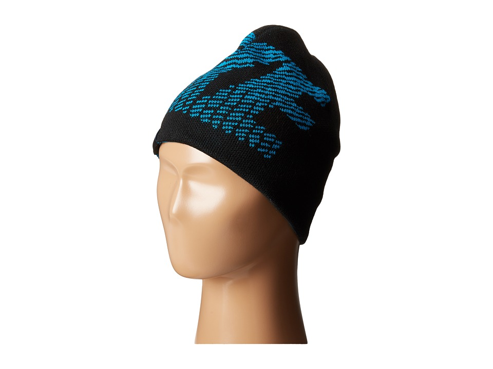 Nike Kids - Reversible Jacquard Beanie (Big Kids) (Black) Beanies
