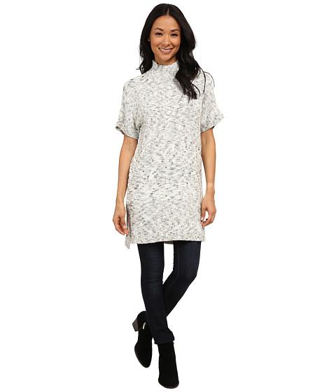 Calvin Klein Jeans - Funnel Neck Poncho (Scheme) Women's Sweater