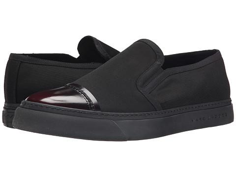 Marc Jacobs - Cap Toe Slip-On Sneaker (Black) Men