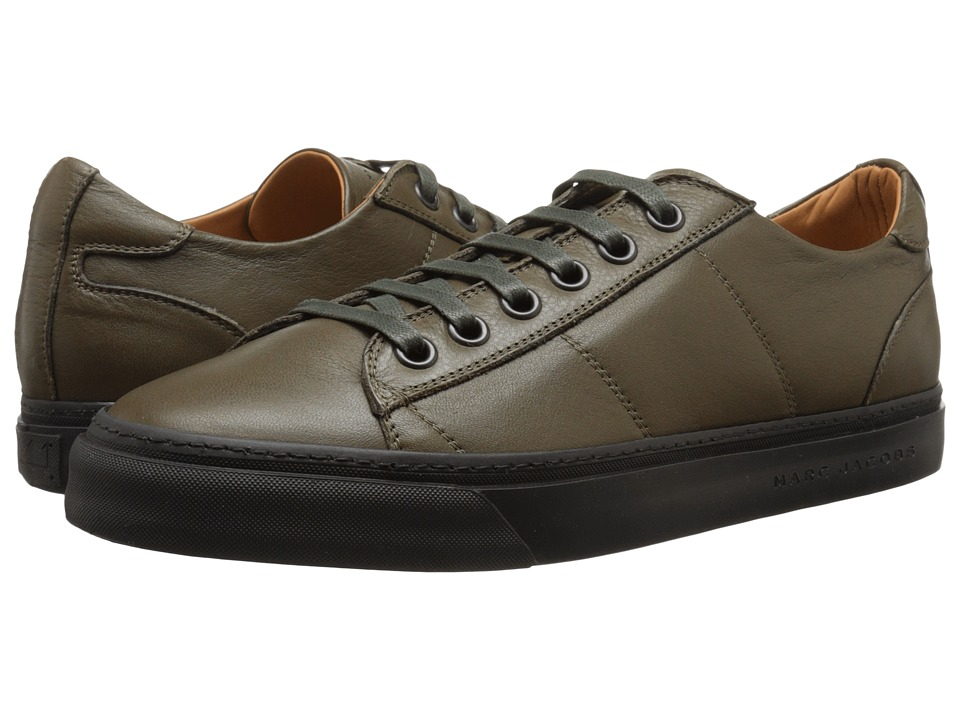 Marc Jacobs - Leather Low-Top Sneaker (Muschio) Men