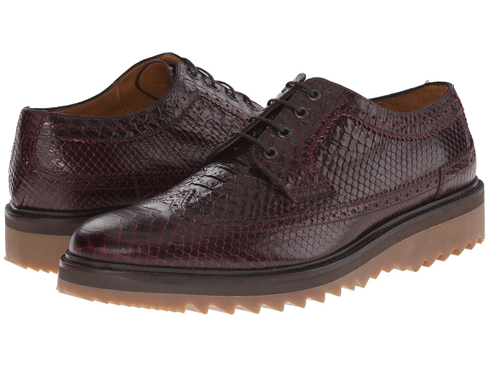Marc Jacobs - Scaled Oxford with Jagged Bottom (Bordeaux) Men