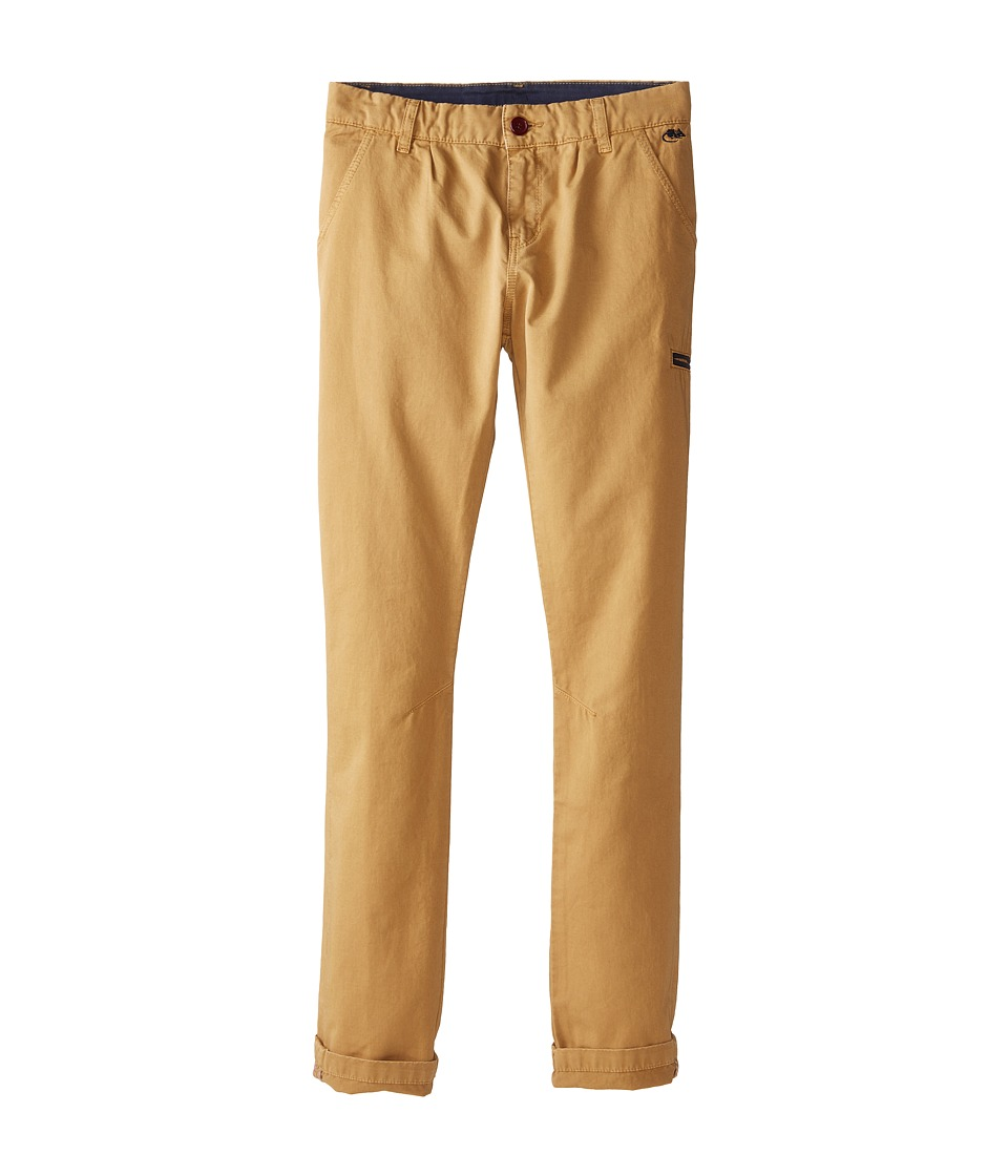 Little Marc Jacobs - Slim Fit Trousers (Big Kids) (Antilope) Boy