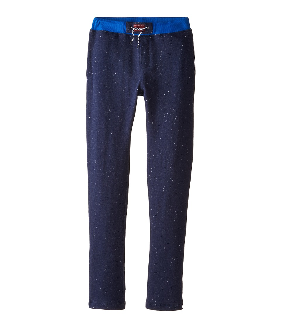 Little Marc Jacobs - Fleece Jogging Pants (Big Kids) (Classic Blue) Boy's Casual Pants