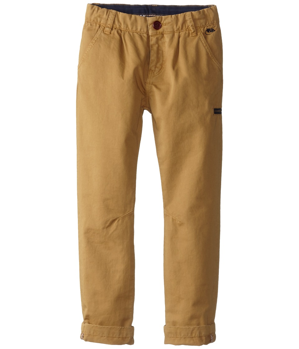 Little Marc Jacobs - Slim Fit Trousers (Little Kids/Big Kids) (Antilope) Boy's Casual Pants