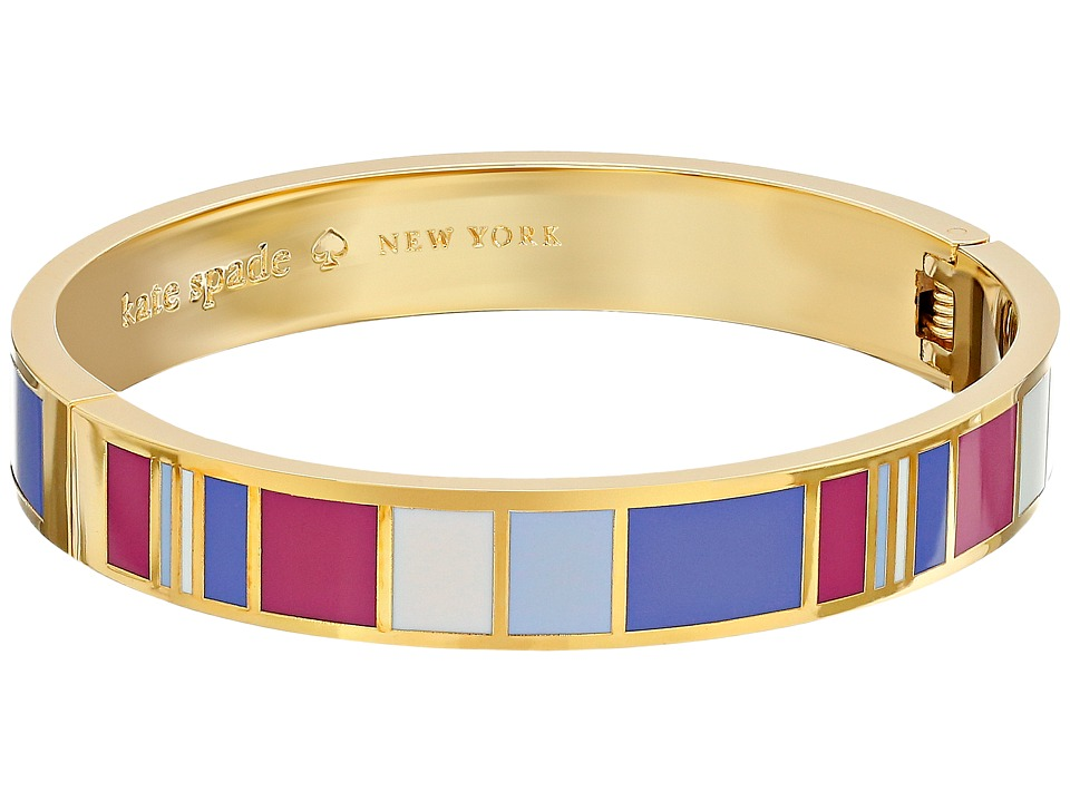 Kate Spade New York - Idiom Bangles It's What's On The Inside That Counts - Hinged (Multi) Bracelet