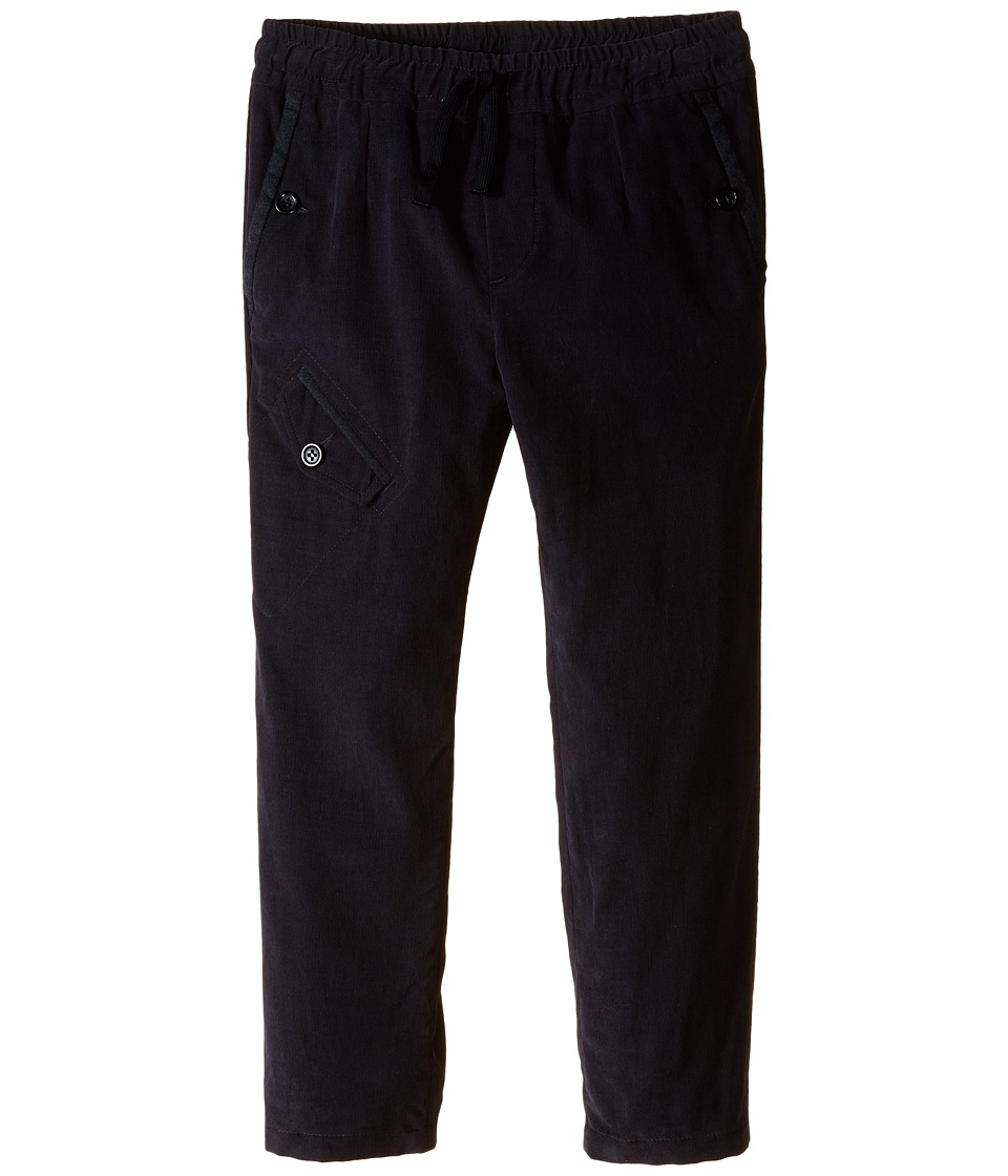 Dolce & Gabbana Kids - Jogger Pants (Toddler/Little Kids) (Very Dark Grey) Boy's Casual Pants