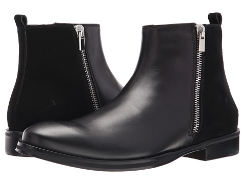 CoSTUME NATIONAL - Double Zipper Boot (Nero) Men's Boots