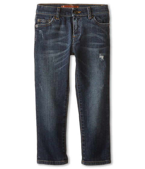 Dolce & Gabbana - Basic Five-Pocket Jeans in Blue/Denim (Toddler/Little Kids) (Blue/Denim) Men's Jeans