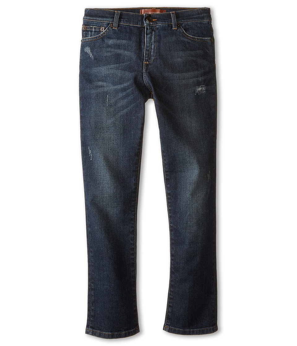 Dolce & Gabbana - Basic Five-Pocket Jeans in Blue/Denim (Big Kids) (Blue/Denim) Men's Jeans