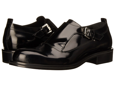 CoSTUME NATIONAL - Single Monk Strap Oxford (Nero) Men