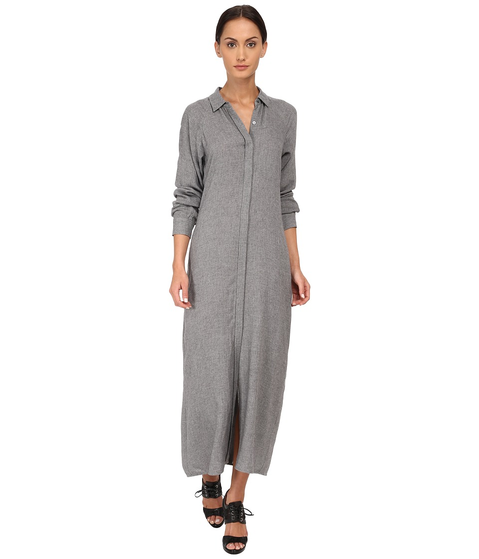 Theory - Scenta Dress (Heather Grey) Women's Dress