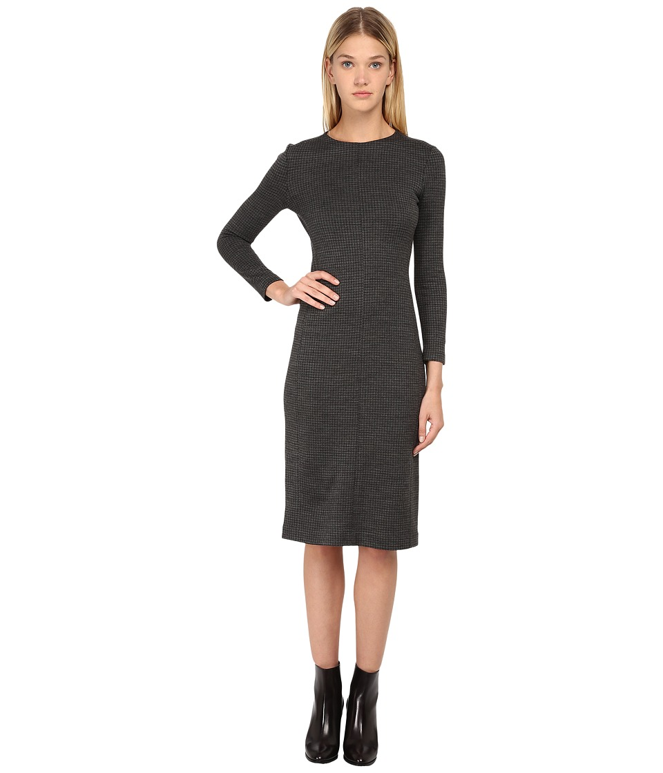 Theory - Ekundayo Dress (Charcoal/Black) Women's Dress