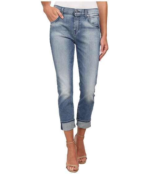 7 For All Mankind - The Relaxed Skinny in Light Blue Hue (Light Blue Hue) Women's Jeans