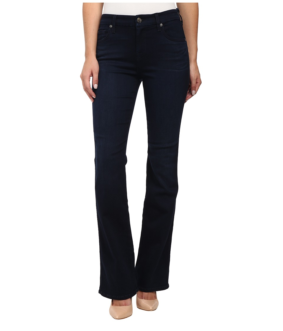 7 For All Mankind - Short Inseam Kimmie Bootcut in Slim Illusion Luxe Rich Blue (Slim Illusion Luxe Rich Blue) Women's Jeans
